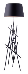 DROUGHT FLOOR LAMP BLACK