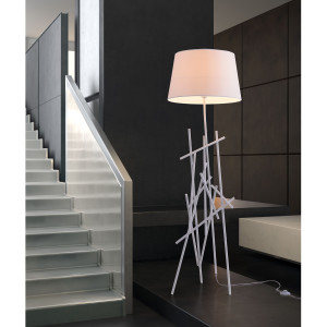 DROUGHT FLOOR LAMP WHITE